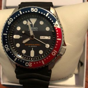 Seiko automatic divers 200m 21 jewels